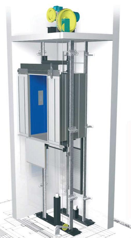 Schemi Elettrici Quadri Ascensori : Ascensore elettrico toro ascensori